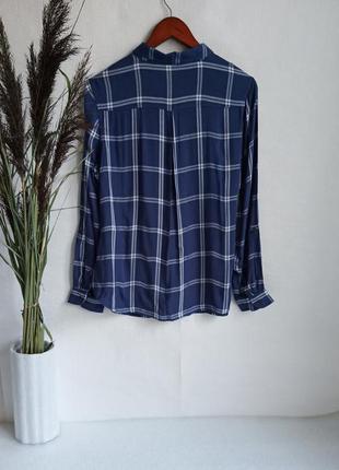 ✨неймовірна , натуральна рубашка в клітинку ,із вишивкою . віскоза , вискоза , вышивка ✨2 фото