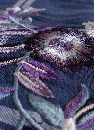 ✨неймовірна , натуральна рубашка в клітинку ,із вишивкою . віскоза , вискоза , вышивка ✨5 фото