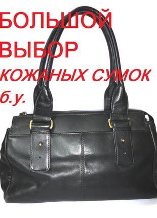 Натуральная кожаная сумка nova leather