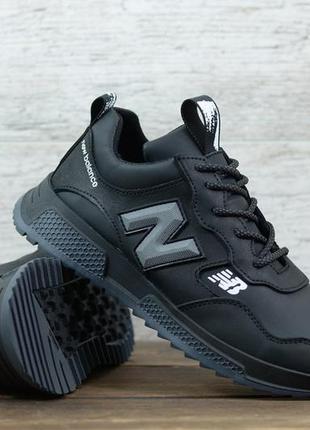 Кожаные кроссовки мужские стильные качественные 40 - 45 размер