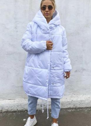 Пуховик одеяло,куртка зефирка зима