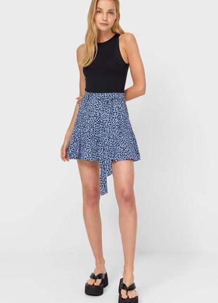 Летняя юбка stradivarius