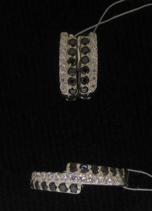 Набор кольцо 17.5 размер + серьги серебро 925 проба