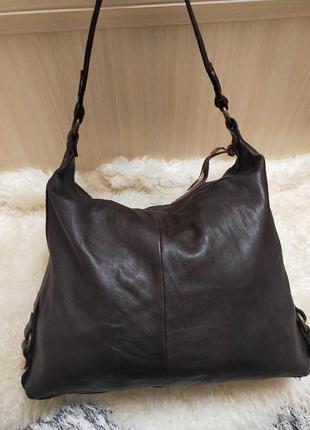 Изумительная кожаная сумка торба lakeland