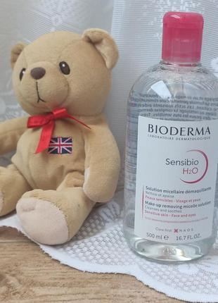 Мицеллярная вода bioderma sensibio crealine 500 мл сенсибио