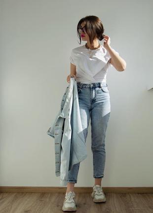 Bershka джинсы мом, размер 34