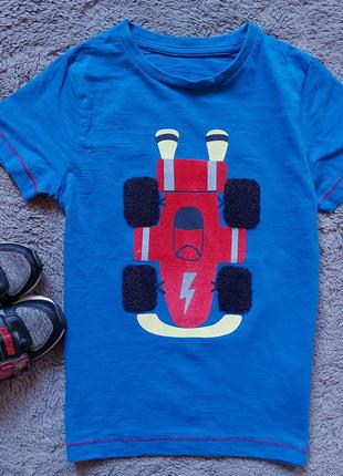 Футболка с машиной для мальчика