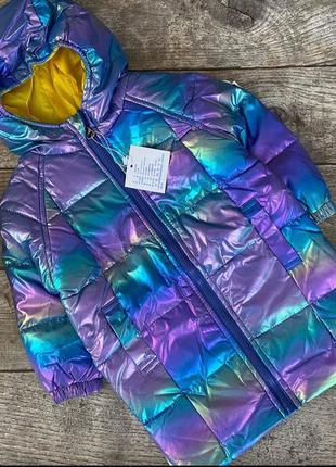 Демі куртка для дівчаток