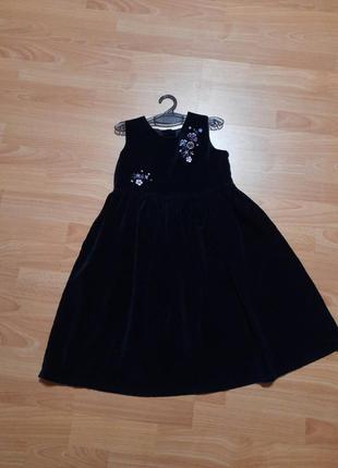 Tesco шикарное бархатное платье сукня плаття веллюровое бархат велюр