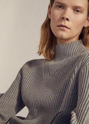 Оригинальный свитер cos шерсть