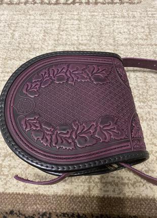 Новая кожаная сумка ручной работы