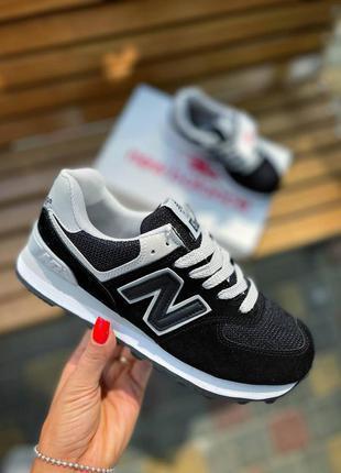 Новинка! женские, замшевые, чёрные кроссовки | жіночі кросівки/кроси чорні із замші