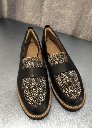 Мокасины туфли clarks