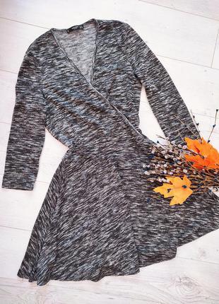 Плаття сіре сонцекльош на запах