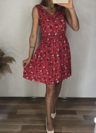 Платье натуральная ткань