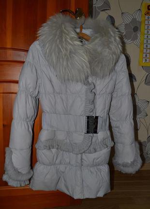 Стильный и теплый пуховик-курточка)