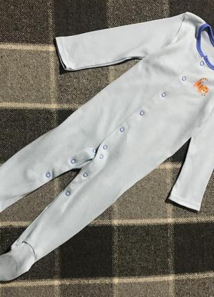 Детский бодик человечек pepco 9-12 месяцев