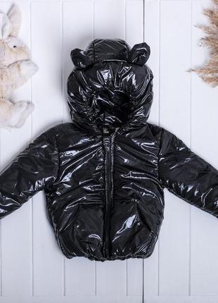🍁деми куртка с ушками