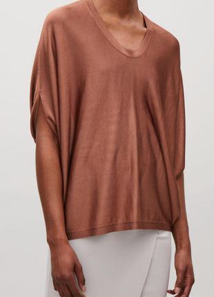 Блуза-джемпер cos оверсайз м-l