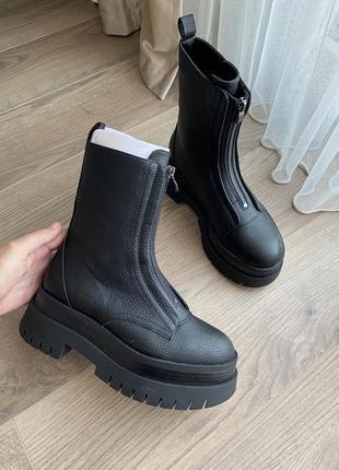 Новые осенние ботинки сапоги 35 размер bershka