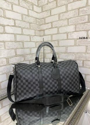 Дорожная, спортивная , большая сумка для ручной клади  в стиле луи витон  louis viton