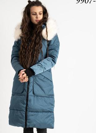 Удлинённая куртка / зима
