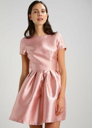 Выпускное вечернее коктейльное нарядное  платье chi chi london /комплект мама + дочка /фемели лук