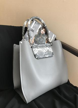 Большая сумка шоппер новая