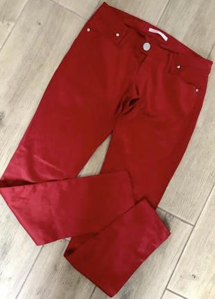 Атласные штаны брюки