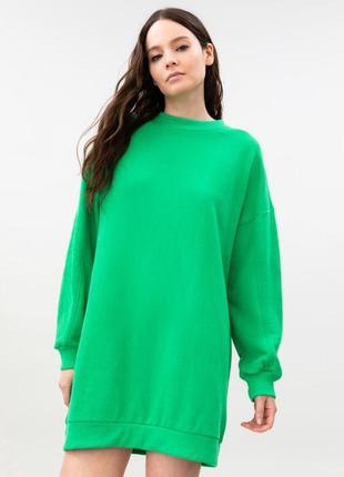 Новое платье свитшот италия made in italy сукня світшот lefties