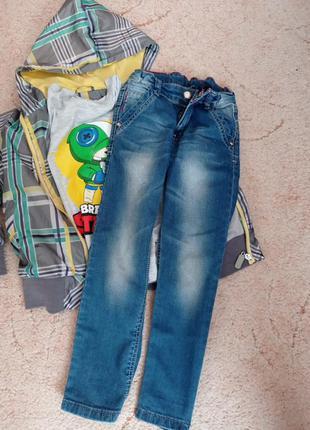 Турецкие джинсы на 5-6 лет