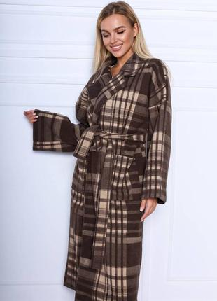 New collection😍😍😍😍 шикарное пальто ,самая красивая расцветка ,подойдёт под любой стиль 👌незаменима вещь в вашем гардеробе)