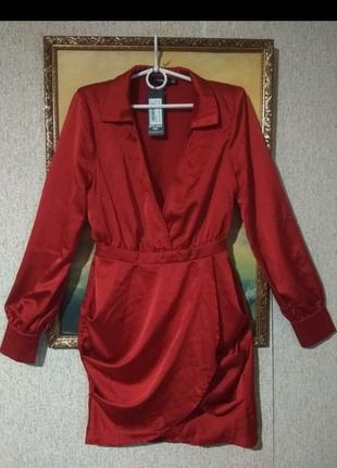 Стилтное платье рубашка