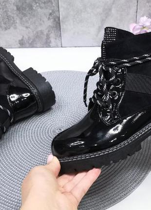 Крутые деми ботинки для девочки