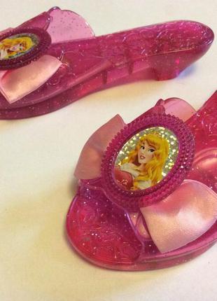Продам карнавальные туфельки принцессы аврора оригинал дисней