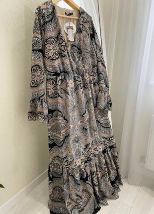 Шикарное платье большого размера 🔥