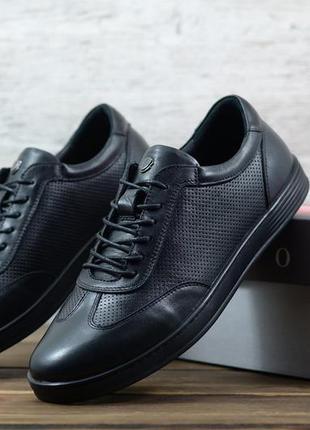 Кеды / туфли мужские кожаные