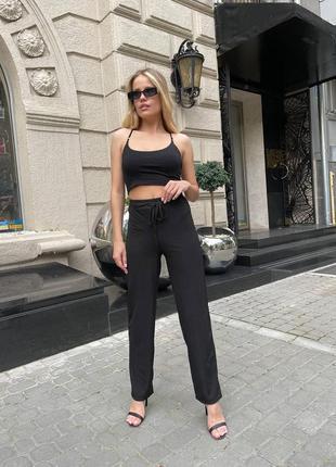 Летние штаны брюки лёгкие штанишки