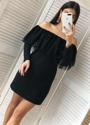 Крутое нарядное платье от zara
