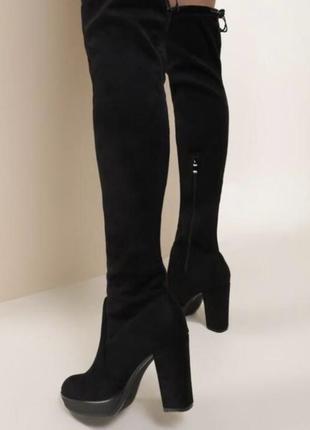 Черные ботфорты
