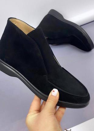 Рр 38 замшевые ботинки