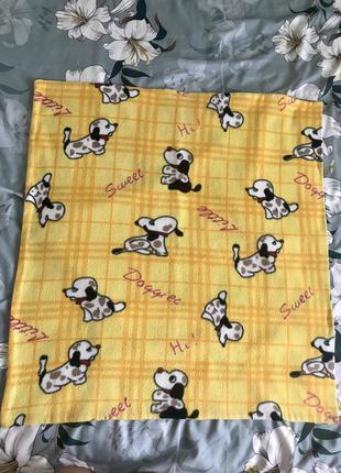 Флюсовое одеяло детское покрывало плед