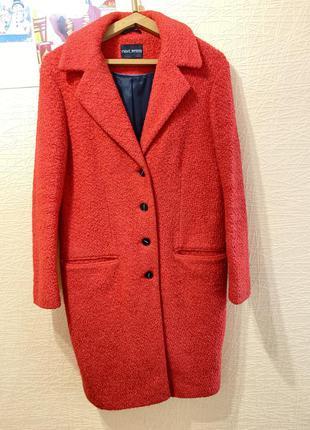 Стильное шерстяное пальто next petite размер 8p
