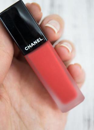Уценка - chanel rouge allure ink- 148 - жидкая матовая помада