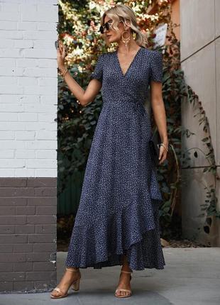 Платье в цветочек shein