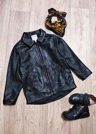 Next кожаная куртка пиджак косуха натуральная кожа zara gap