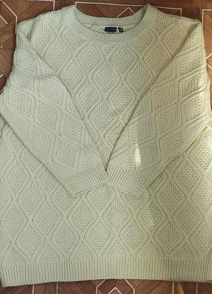 Новый вязаный свитер пуловер bonprix bodyflirt