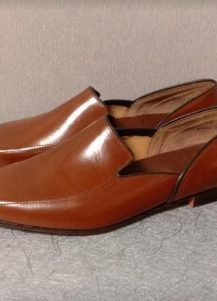 Ручная работа. туфли мужские кожаные от churc(англия)