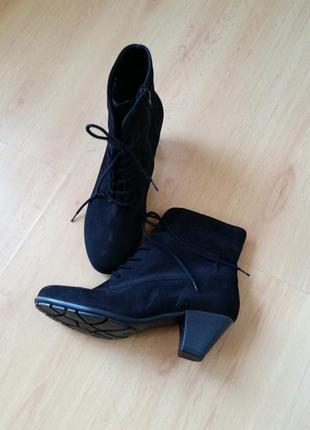 Женские  ботиночки gabor (замша)