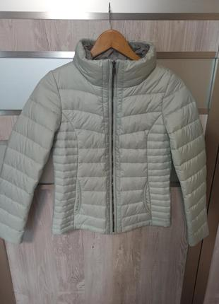 Стёганая женская куртка от street one.р хs-42.